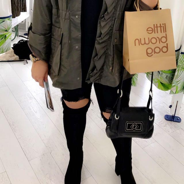 OROTON Black Small Handbag