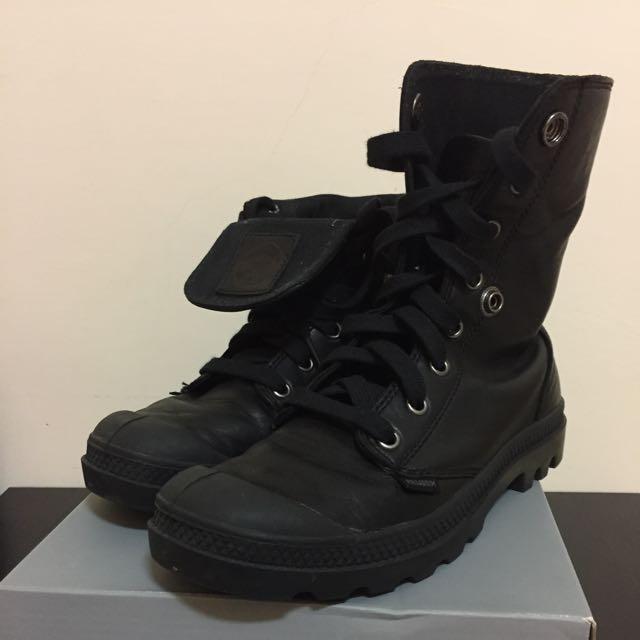Palladium 皮革靴子 23.5cm