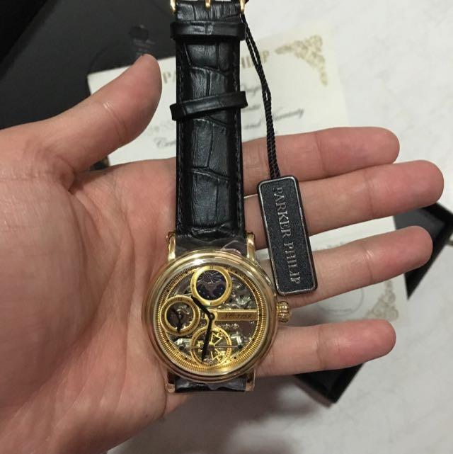 Parker Phillip 自動機械錶 限量編號
