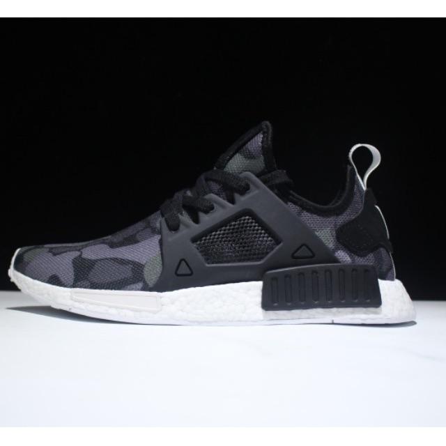 the latest 0f958 fcc89 PO Adidas NMD Xr1 Black Duck Camo, Mens Fashion, Footwear on