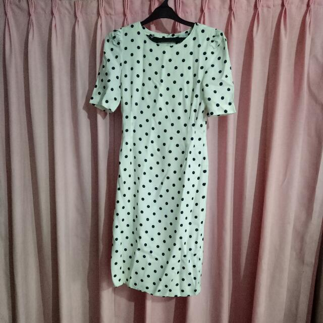 Polka Vintage Dress By Victoire