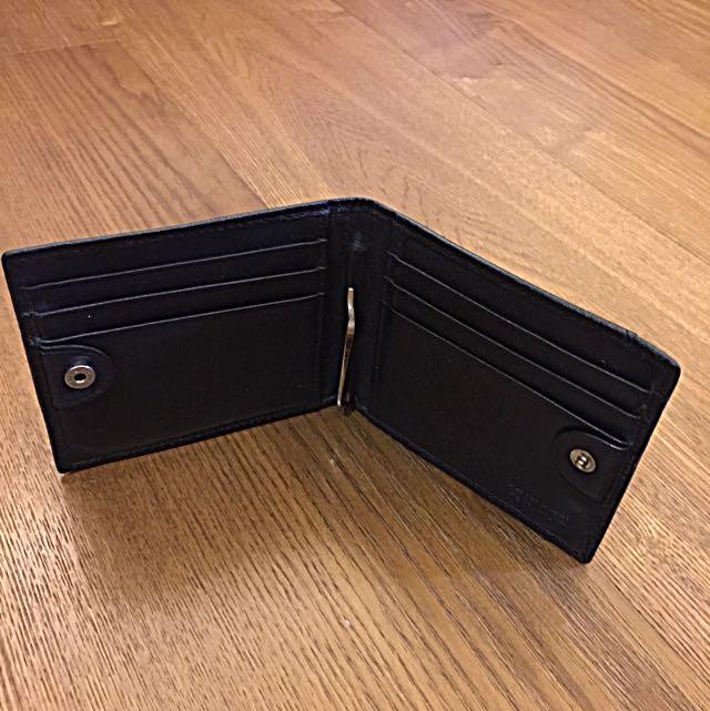 Porter 鈔票夾 黑皮夾 皮包 二手良品