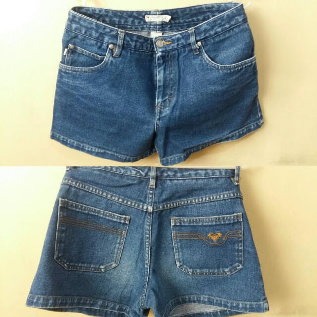 Preloved Roxy Denim Shorts