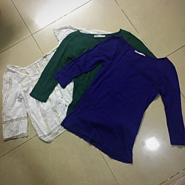 Pre-loved Zara long sleeves