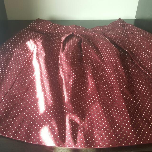 Princess Highway Sz 12 Red Skirt