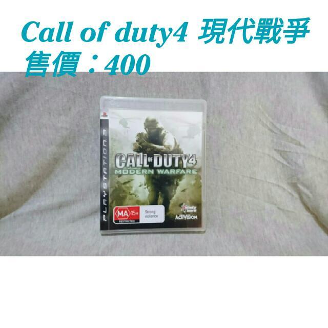 ☀[二手]PS3 Call Of Duty 現代戰爭