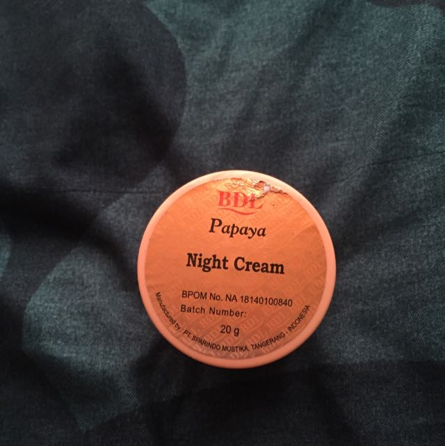RDL Papaya Night Cream