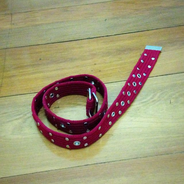 Red Belt- FREE WITH ANY PURCHASE