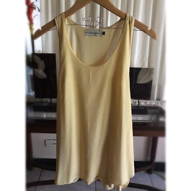 Regatta Two-layer Canary Yellow Sleeveless Shirt