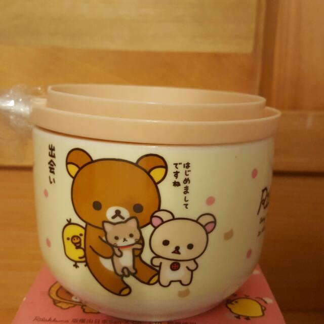 Rilakkuma 拉拉熊 萬用造型馬克杯 黃色