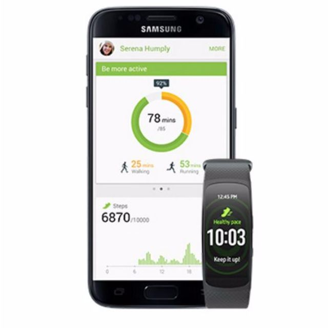 Samsung Galaxy S7 + Gear Fit 2 - Vodafone