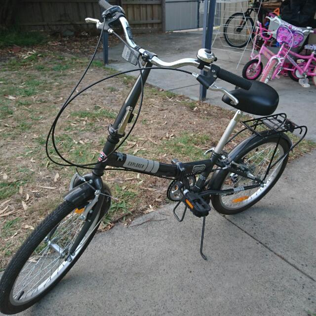 SCA Folding Bike
