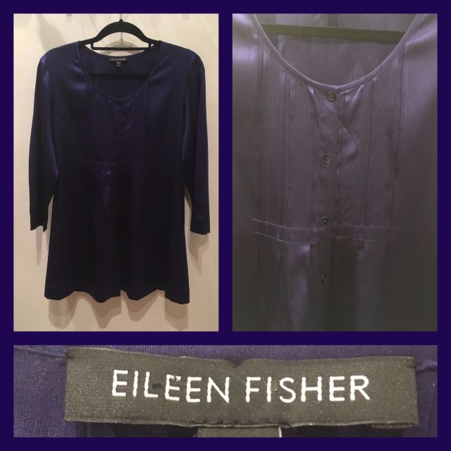 Size M - Eileen Fisher - Blouse