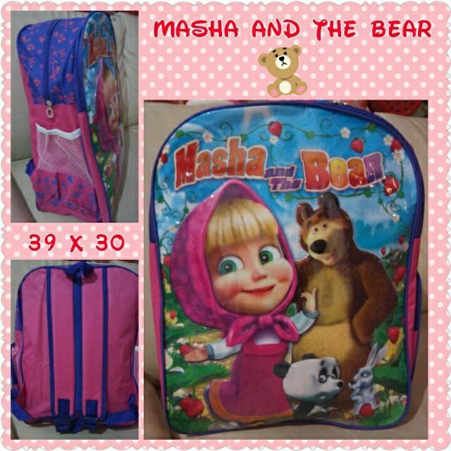 TAS MASHA N THE BEAR GMBR TIMBUL