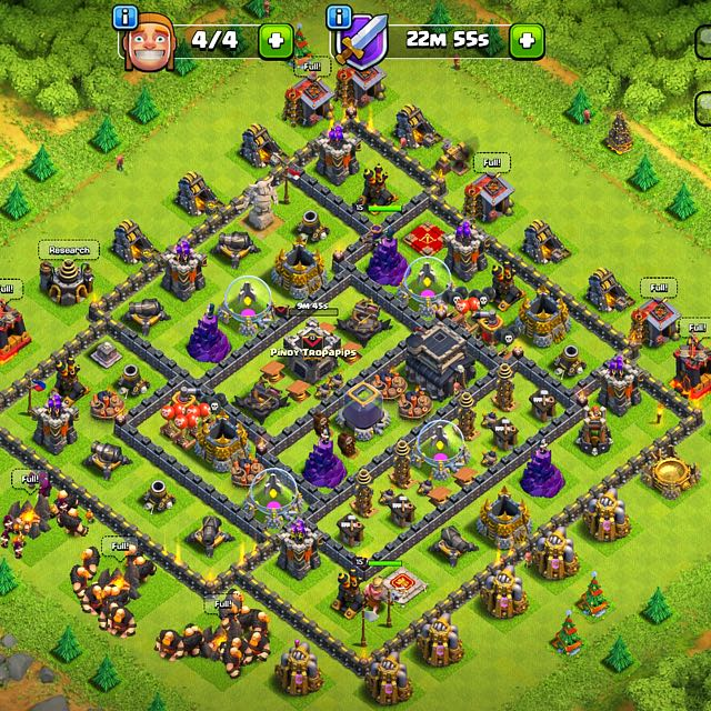 Th 9 CLASH OF CLANS