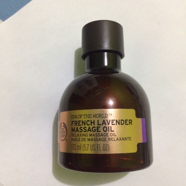 The Body Shop - Spa Of The World - French Lavender Massage Oil