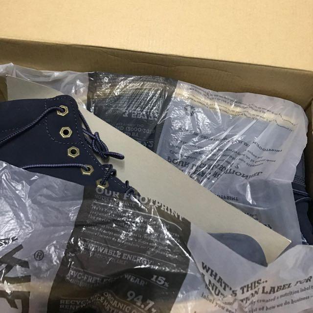 Timberland 長靴 藍色 防水 全新