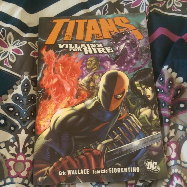 Titans: Villains For Hire
