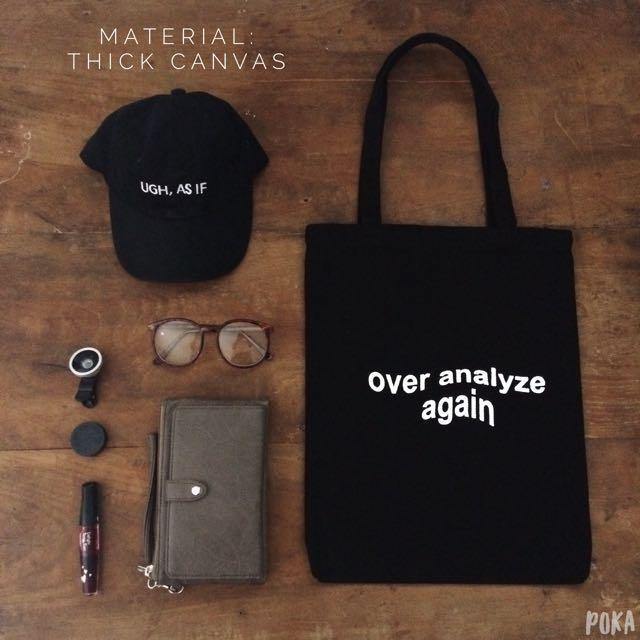 Tote Bag / Shopping Bag / Tas Totte Kanvas Canvas Tebal Kode: TB03