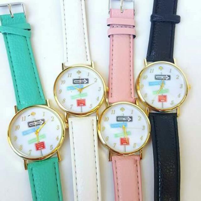 Trendy Colorful Watches