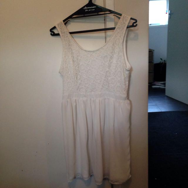 White Pagani Dress