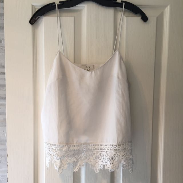Wild Pair Worn A Couple Times White Lace Top
