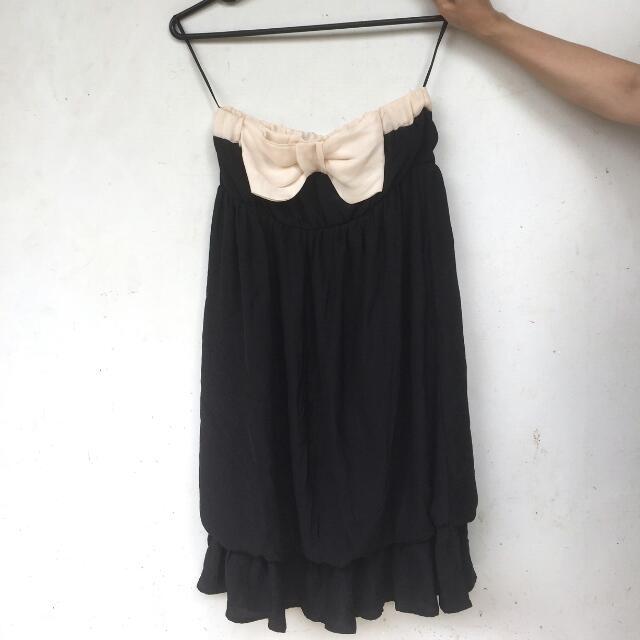 Zara - Bow Tube Dress