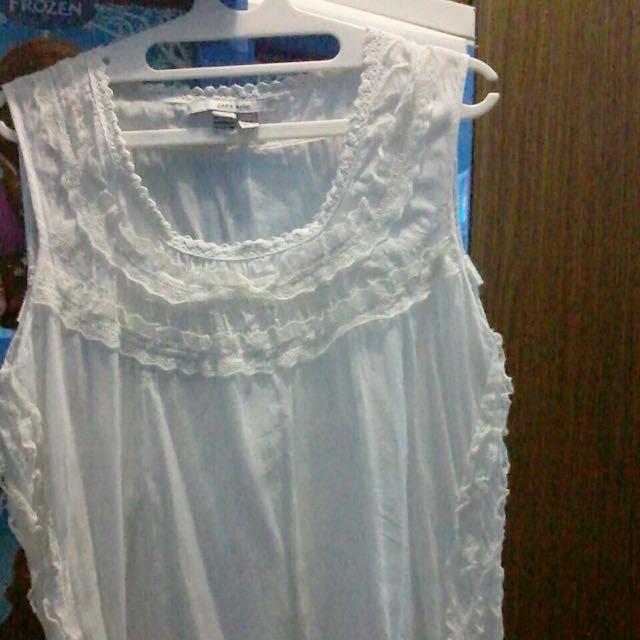 Zara basic White Top