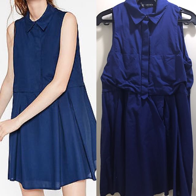 ZARA NAVYBLUE DRESS