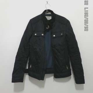Zara man - jacket black navy