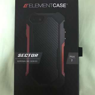 Element Case Sector Red For iPhone 7