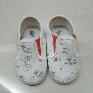 Authentic Mothercare Winnie The Pooh Soft Sole Shoes