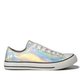 Rubi Holographic Sneakers