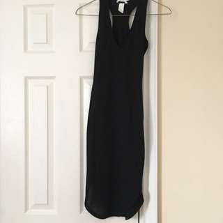 F21 Bodycon Black Dress