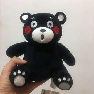 正版授權 KUMAMON 熊本熊 高33公分 萌熊 黑熊 超夯 超萌 超可愛 絨毛娃