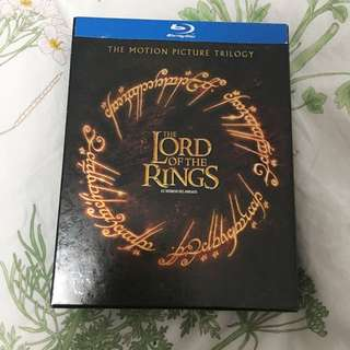 Lord of the Rings Trilogy Blueray DVDs
