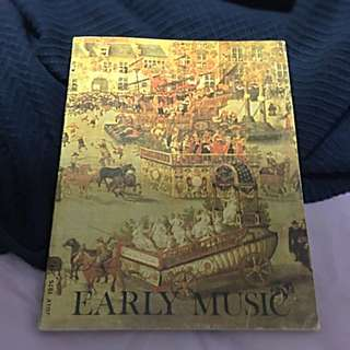 July 1975 Early Music (vintage Original)