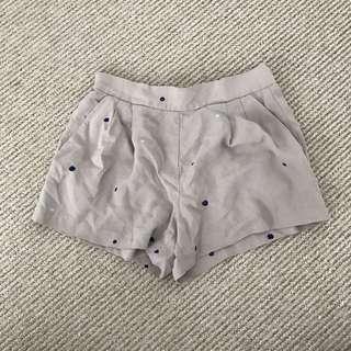 Aritzia Babaton Silk Crepe Shorts