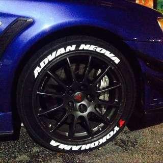 wonky tyre design...