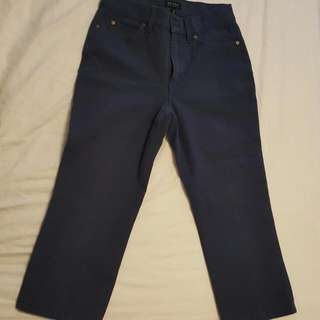 Escada Sport Cropped Pants Size 34