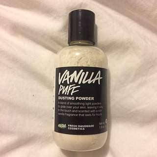Lush Vanilla Puff Powder