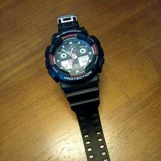 (Reserve) Black G Shock GA100-1A4(Authentic)