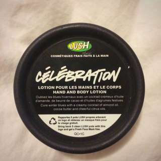 Lush Hand & Body Lotion