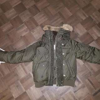 BRAND NEW RALPH LAUREN OLIVE GREEN WINTER JACKET