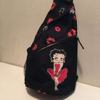 Betty Boop One Shoulder Backpack