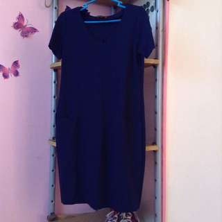 SM Woman Dark Blue Dress