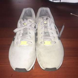 Adidas Grey ZX Flux Shoes
