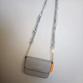 Brand New Michael Kors Grey Mini Side Bag