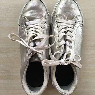 GU Silver Sneakers
