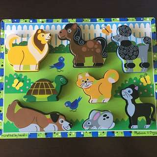 Melissa and Doug animal Puzzle